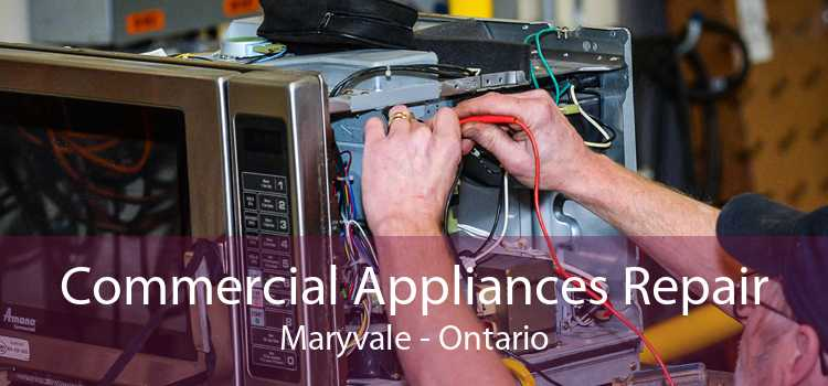 Commercial Appliances Repair Maryvale - Ontario