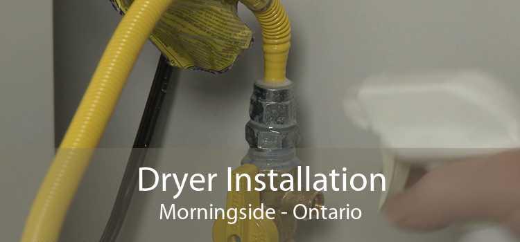 Dryer Installation Morningside - Ontario