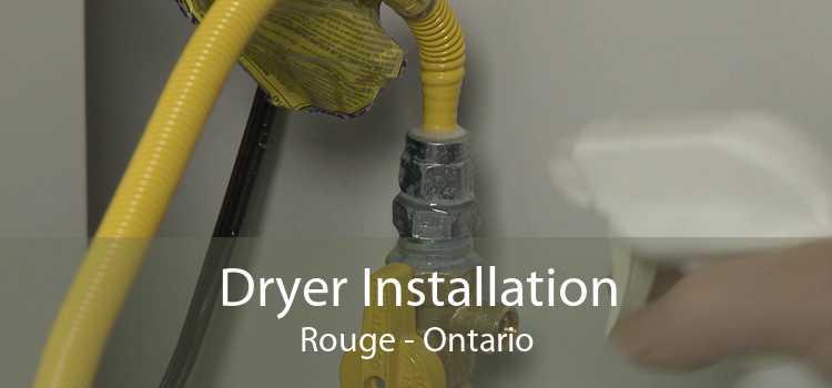 Dryer Installation Rouge - Ontario