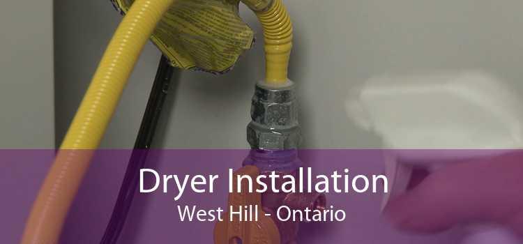 Dryer Installation West Hill - Ontario