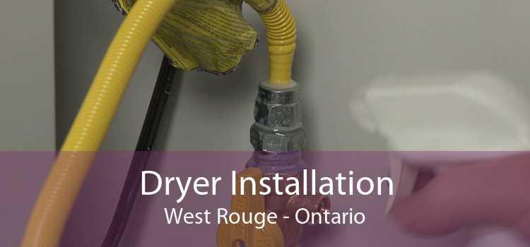 Dryer Installation West Rouge - Ontario