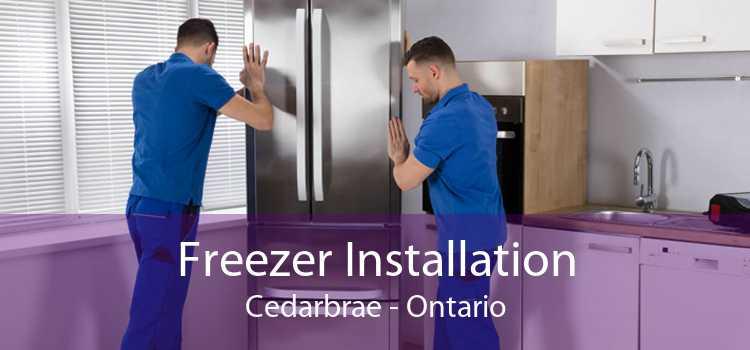 Freezer Installation Cedarbrae - Ontario