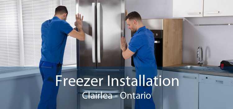 Freezer Installation Clairlea - Ontario