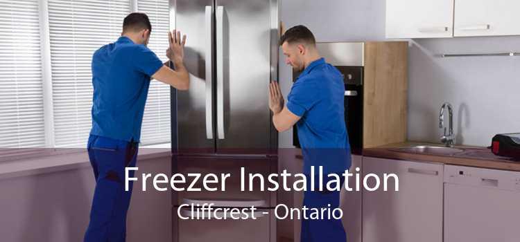 Freezer Installation Cliffcrest - Ontario