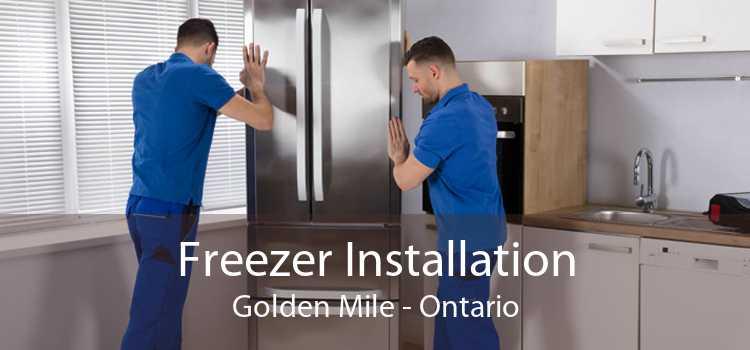 Freezer Installation Golden Mile - Ontario