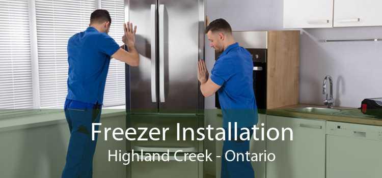 Freezer Installation Highland Creek - Ontario