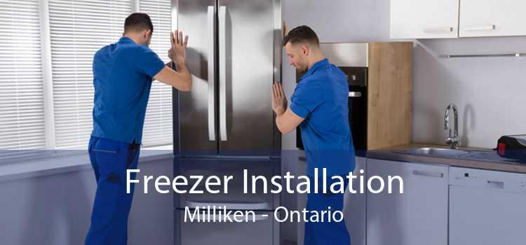 Freezer Installation Milliken - Ontario