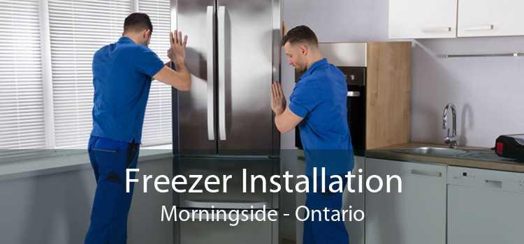 Freezer Installation Morningside - Ontario