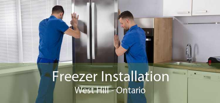 Freezer Installation West Hill - Ontario