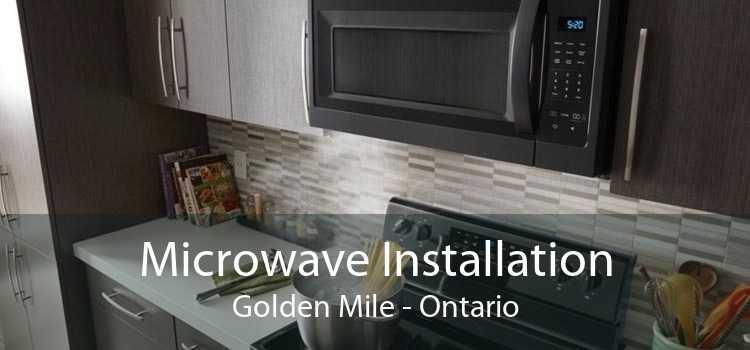 Microwave Installation Golden Mile - Ontario