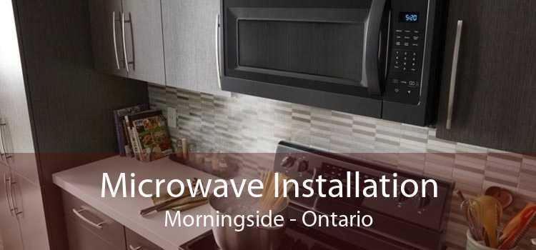Microwave Installation Morningside - Ontario