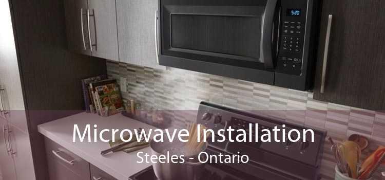 Microwave Installation Steeles - Ontario