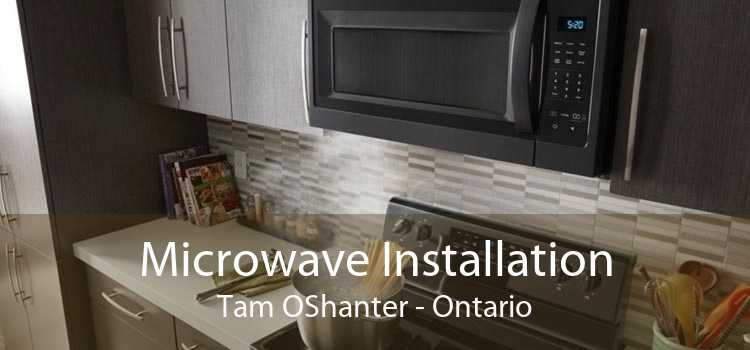 Microwave Installation Tam OShanter - Ontario