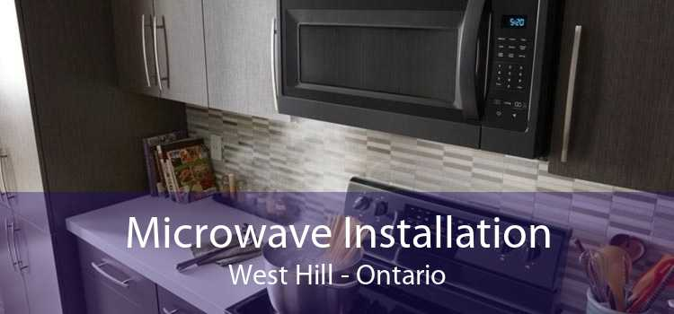 Microwave Installation West Hill - Ontario