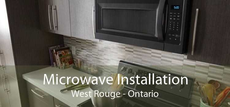 Microwave Installation West Rouge - Ontario