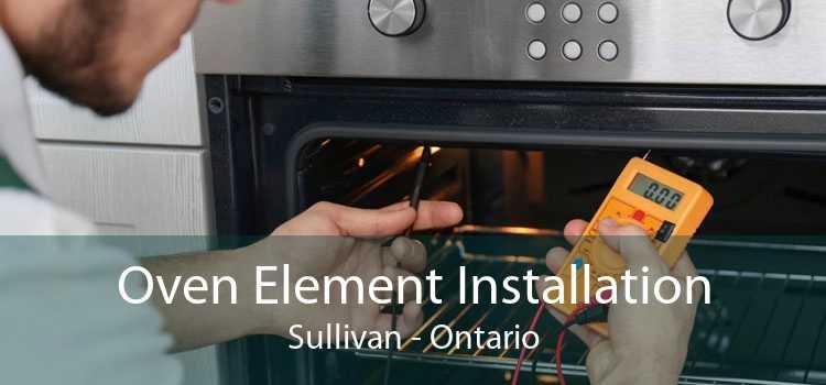 Oven Element Installation Sullivan - Ontario