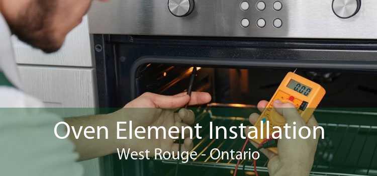 Oven Element Installation West Rouge - Ontario