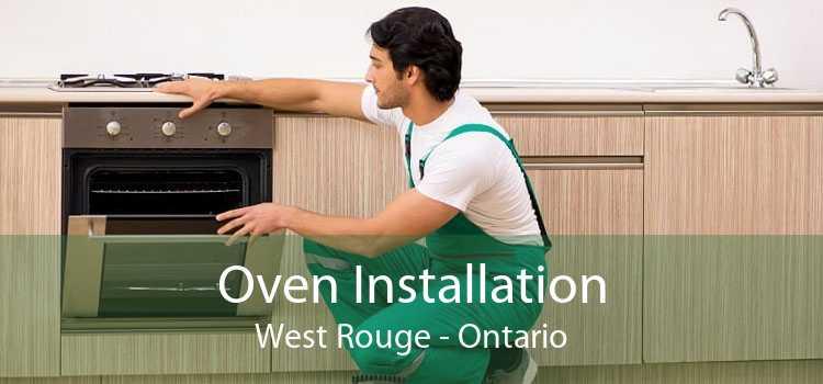 Oven Installation West Rouge - Ontario