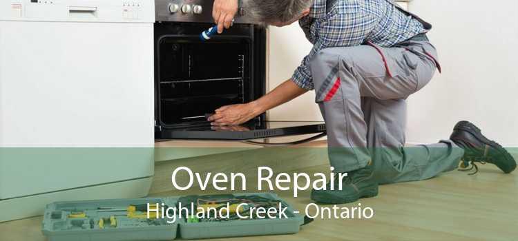 Oven Repair Highland Creek - Ontario