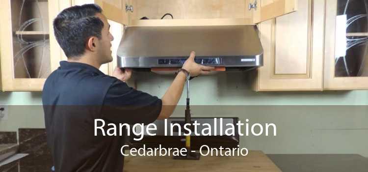 Range Installation Cedarbrae - Ontario