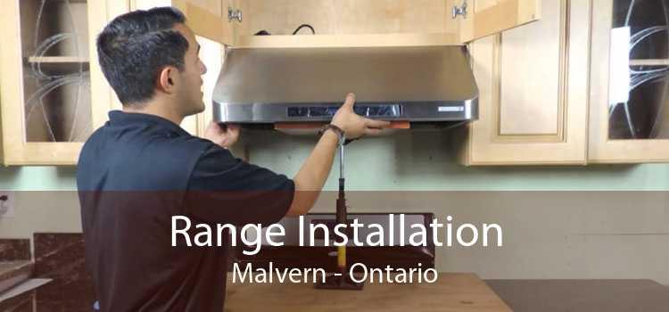 Range Installation Malvern - Ontario