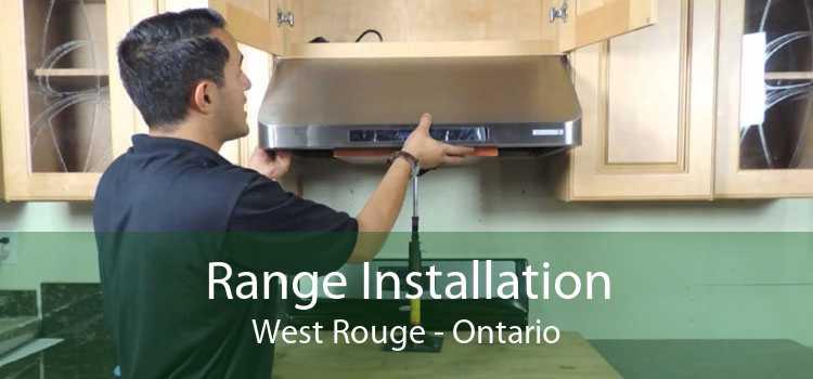 Range Installation West Rouge - Ontario
