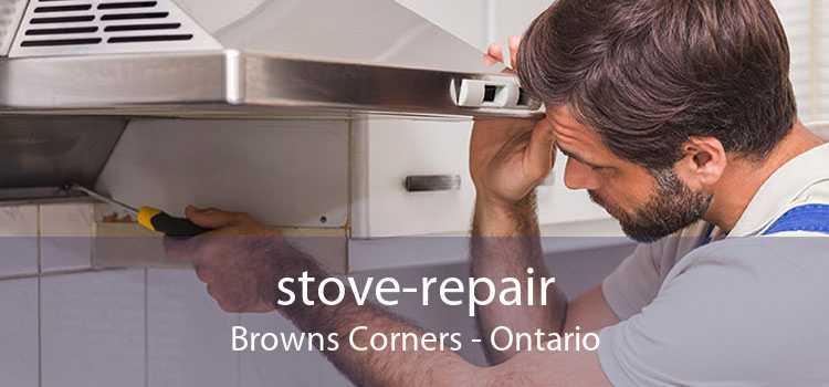 stove-repair Browns Corners - Ontario