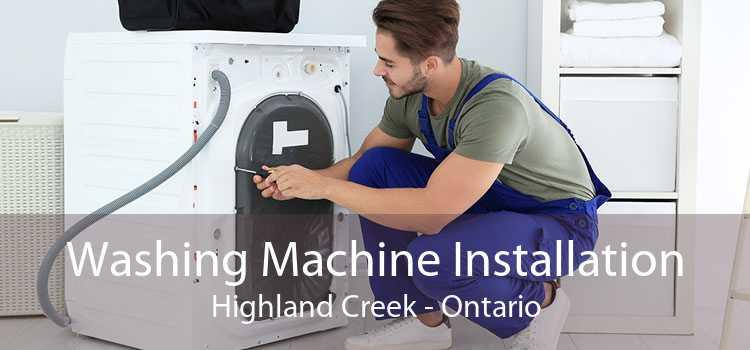 Washing Machine Installation Highland Creek - Ontario