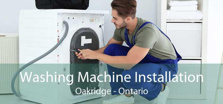 Washing Machine Installation Oakridge - Ontario