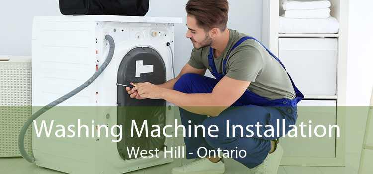 Washing Machine Installation West Hill - Ontario