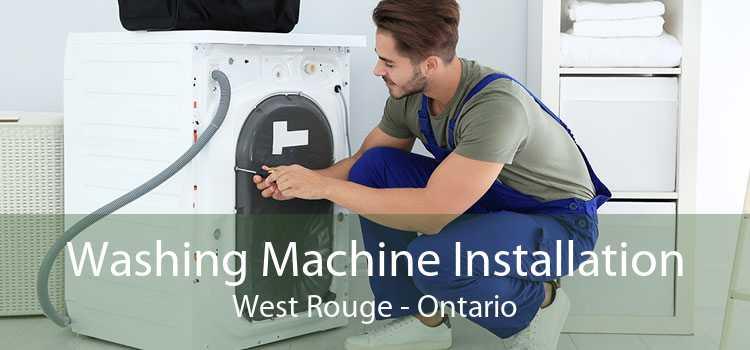 Washing Machine Installation West Rouge - Ontario